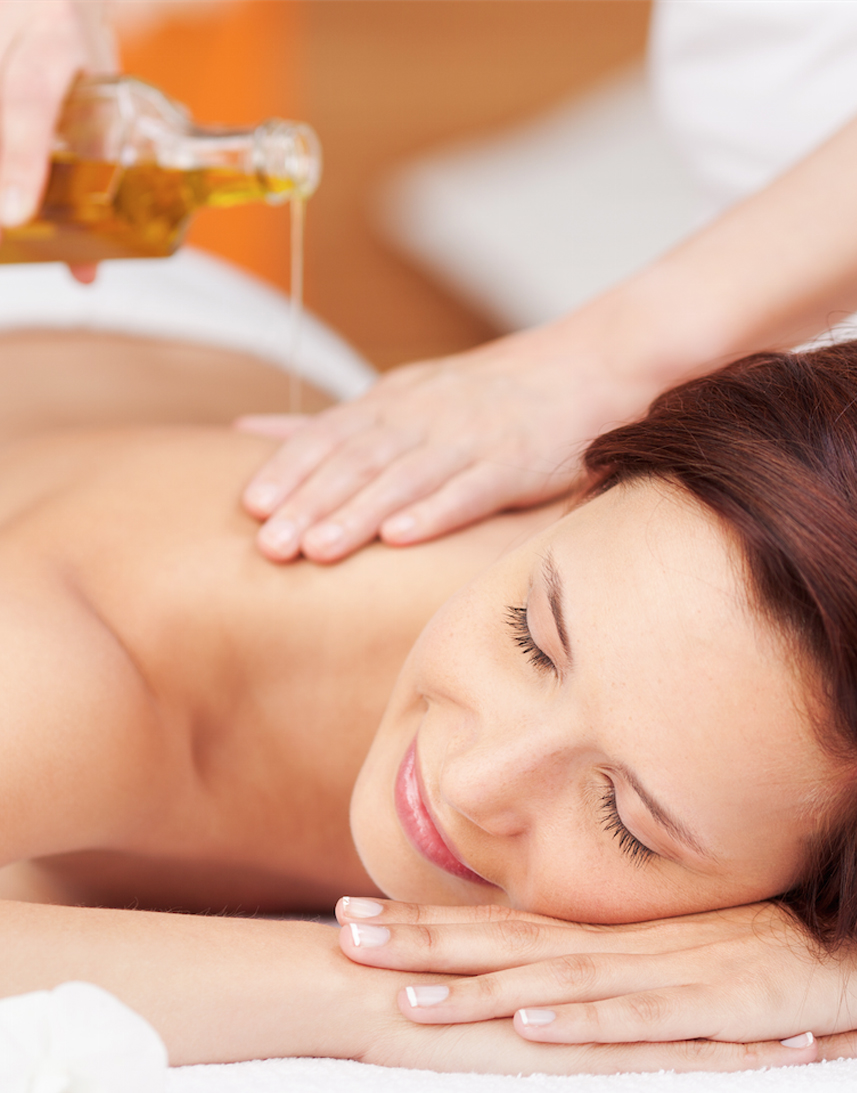 sanfte-massage-mit-öl